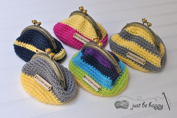 Coin Purse by Just Be Happy Patterns