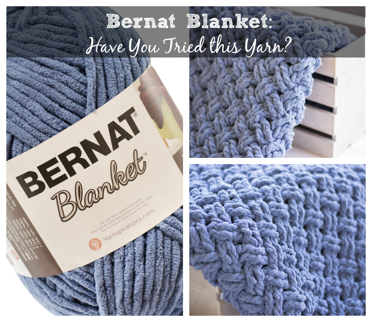 Crochet Patterns Made With Bernat Blanket Yarn : Bernat Blanket: Have you tried this yarn? ? The Crochet Cafe