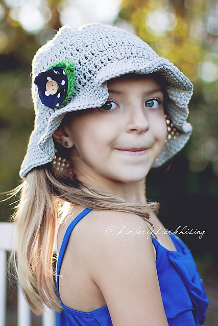 Sun Hat by Salena Baca