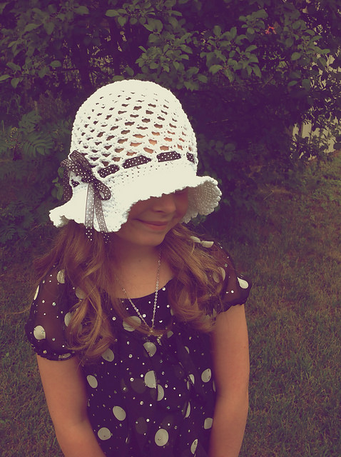 Tessa Sun Hat by Crochet by Jennifer
