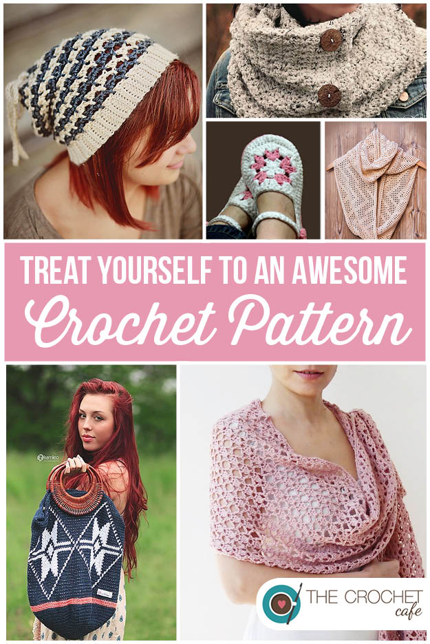 Treat Yourself To An Awesome Crochet Pattern The Crochet Cafe