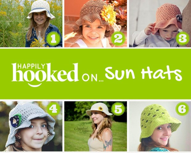 Hooked on Sun Hats