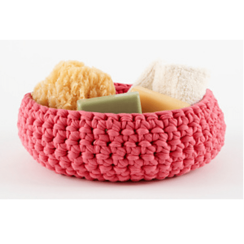 Large Crocheted Bowl by Lion Brand Yarn