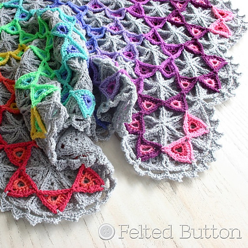 Prism Blanket by Felted Button