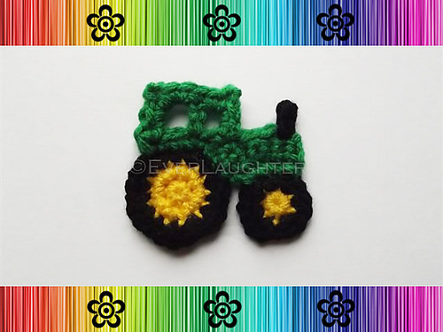 Tractor Applique by Ever Laughter