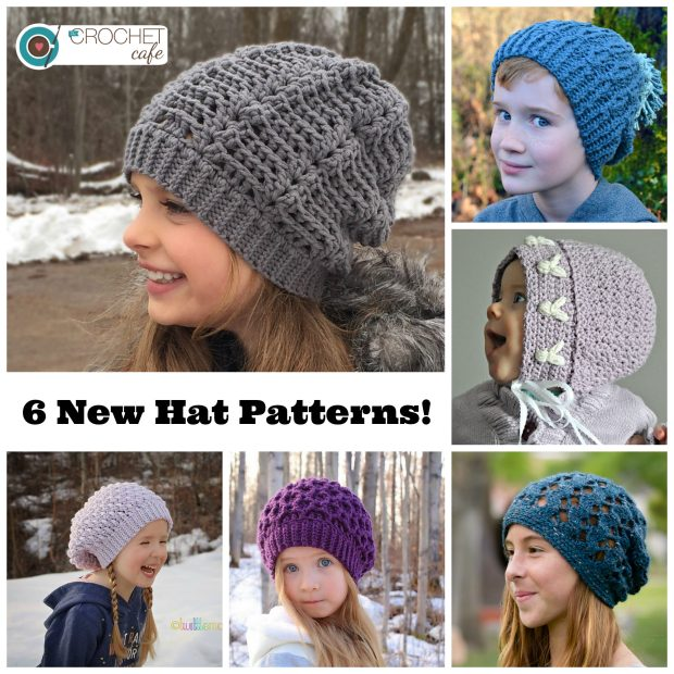 6 New Hat Patterns