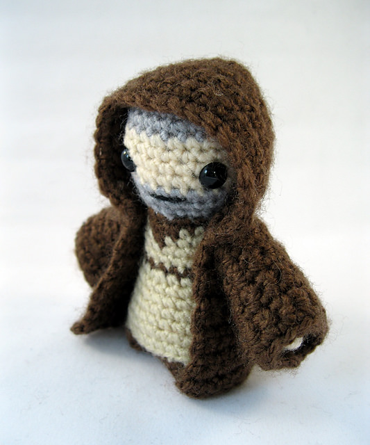 Obi-Wan Kenobi - Star Wars Mini Amigurumi by Lucy Collin