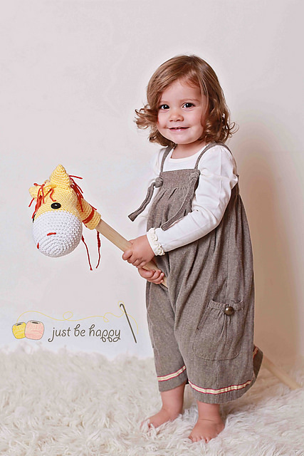 Stick Horse by Just Be Happy Patterns