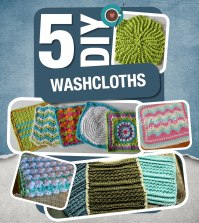 5 DIY Washcloths