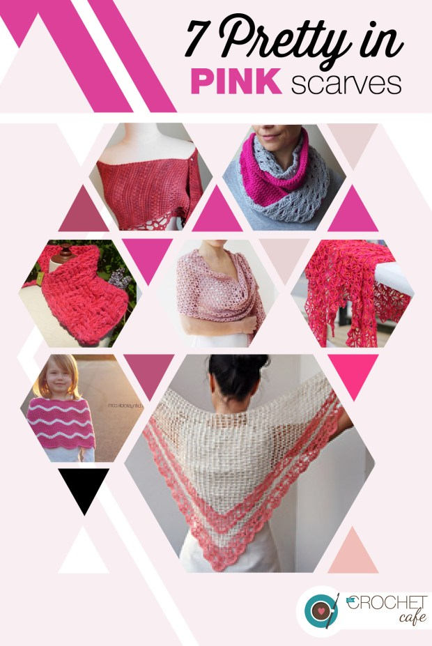 7 Pretty in Pink Scarves (Blog)