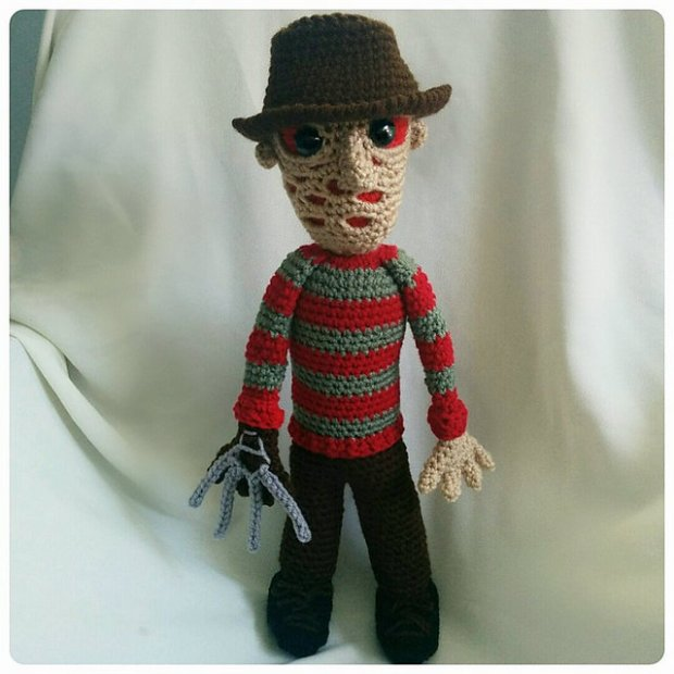 Freddy Krueger Doll by CoCo Crochet Lee