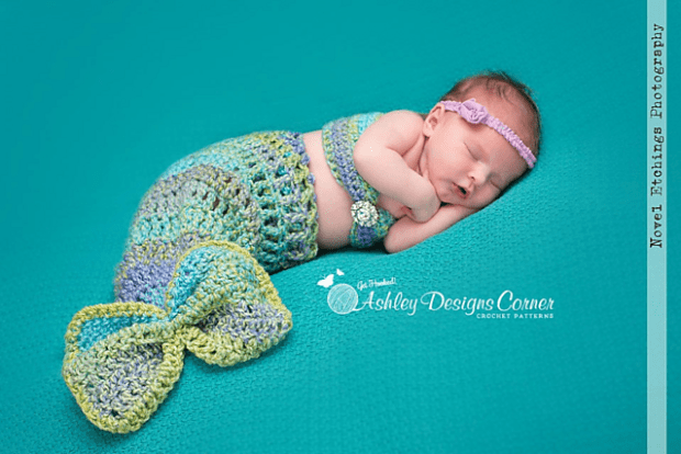 Mermaid Baby by Ashley Designs copy