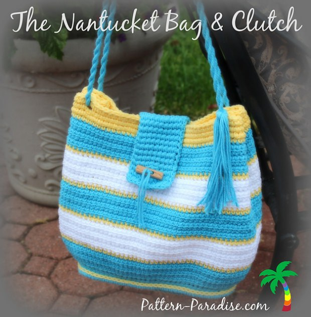 The Nantucket Beach Bag PDF14-146 by Maria Bittner