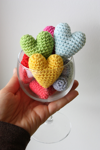 Amigurumi Heart by HappyAmigurumi
