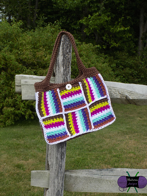 Patchwork Tote Bag by Blackstone Designs