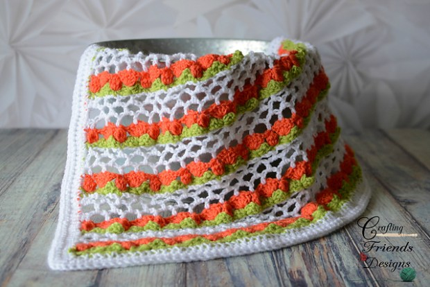 Spring Tulip Afghan by Crafting Friends Designs