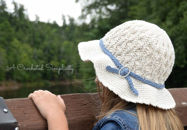 Summer Waves Sunhat by Jennifer Pionk