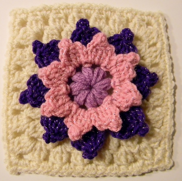Ring Around The Posies Granny Square by Glamour4You