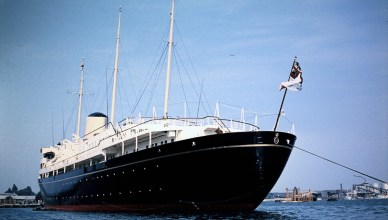 Royal Yacht Britannia could be revived as a floating embassy for trade deals (Stu Smith)