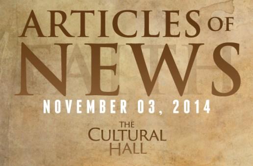 Articles of News/Week of November 3rd