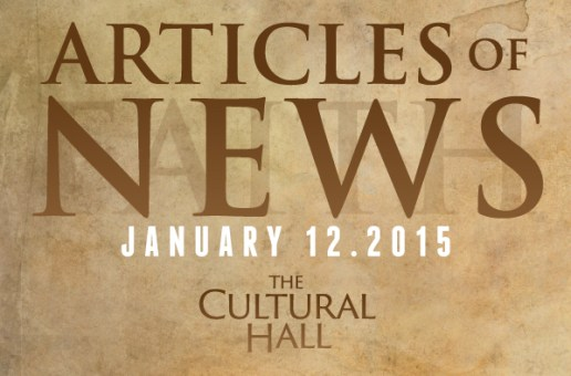 Articles of News/Week of Jan 12th