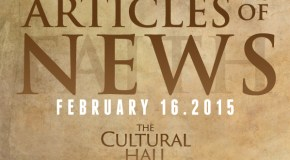 Articles of News/Week of February 16th