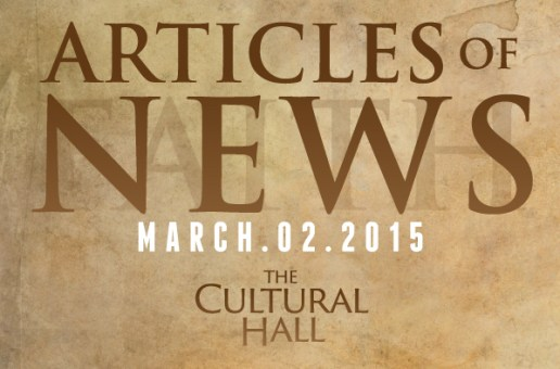 Articles of News/Week of March 2nd
