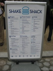 The Shake Shack Menu