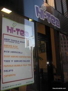 Hi-Tea Storefront