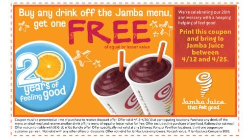 Jamba Deal