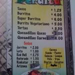 Tacos Peralta - Signage