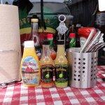 Old Port Lobster Shack Condiments