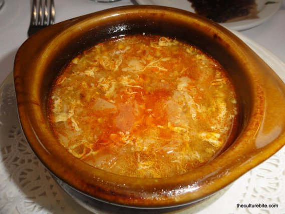 El Patio Espanol Garlic Soup