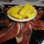 El Patio Espanol Serano Ham and Pineapple