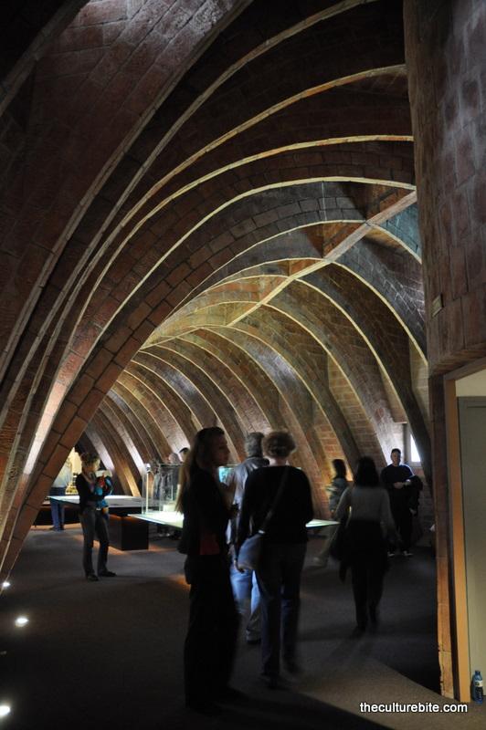 Barcelona La Pedrera Ceiling