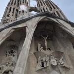 Barcelona Sagrada Familia Jesus Cross
