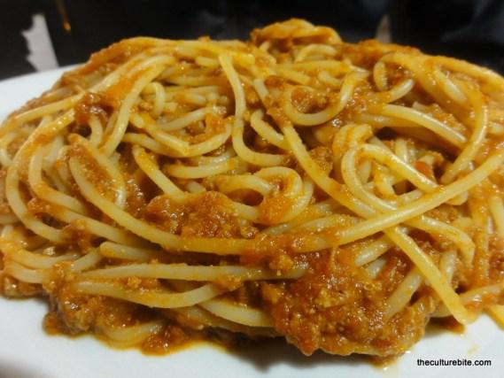 Rome Spaghetti Bolognese