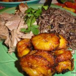 Cha Cha Cha Fried Plantains and Pork