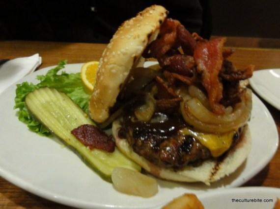 Barneys Western Burger