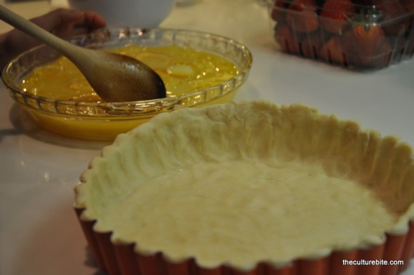 Sams Kitchen Lemon Shaker Pie Crust and Filling