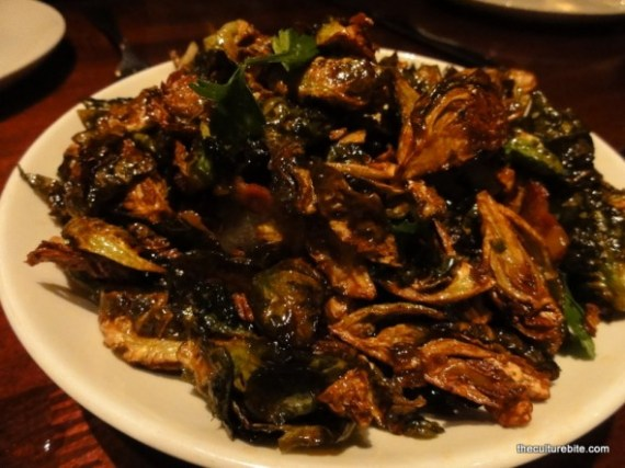 Zero Zero Fried Brussel Sprouts