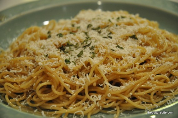 Sams Kitchen Mizithra and Brown Butter Pasta