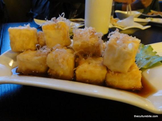 Sushi Raw Agedashi Tofu