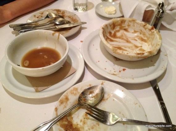 Liberty Cafe Empty Plates