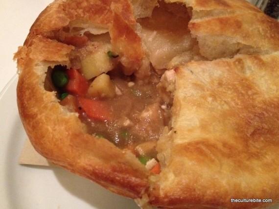 Liberty Cafe Pot Pie Inside