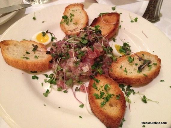 Liberty Cafe Tuna Tartare