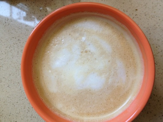 First Finished Latte