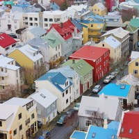 The Colourful Buildings and Street Art of Reykjavik, Iceland