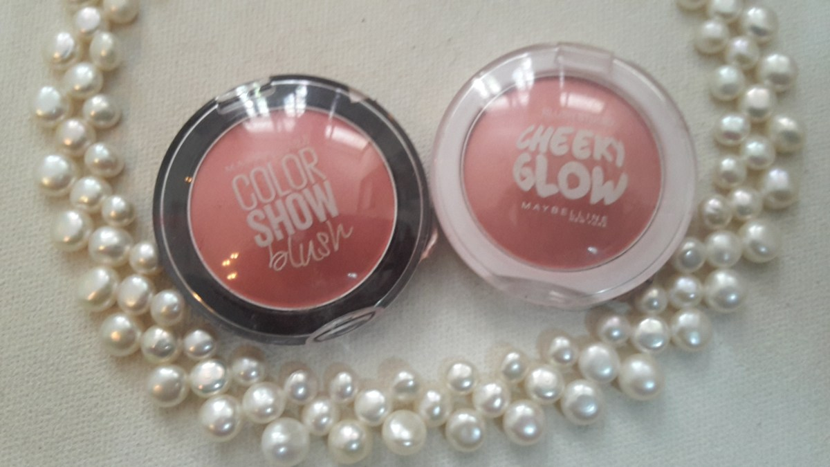 Battle Of The Blushes – Maybelline Cheeky Glow VS Maybeline Color Show