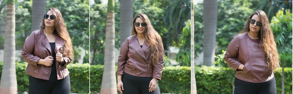 Welcoming Fall In India With Faux Leather Ft AMYDUS